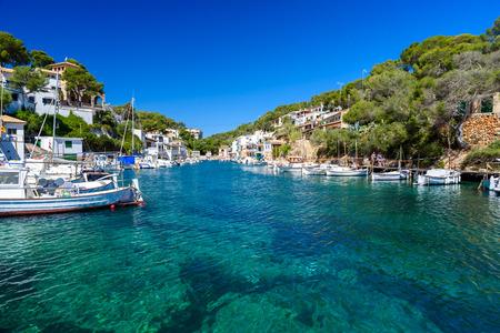 mallorca: Beautiful coast of Cala Figuera -  Spain, Mallorca