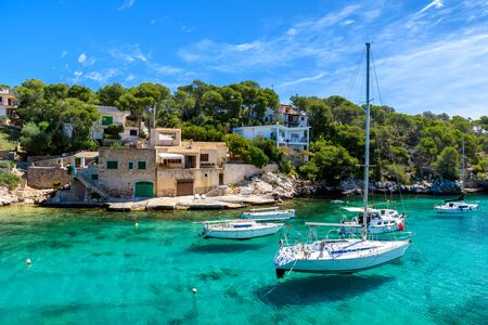 Beautiful coast of Cala Figuera -  Spain, Mallorca