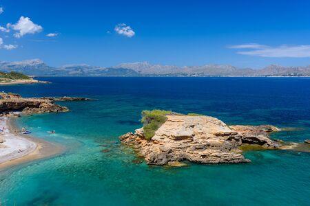 mallorca: Playa SIllot - beautiful beach close to Alcudia, Mallorca