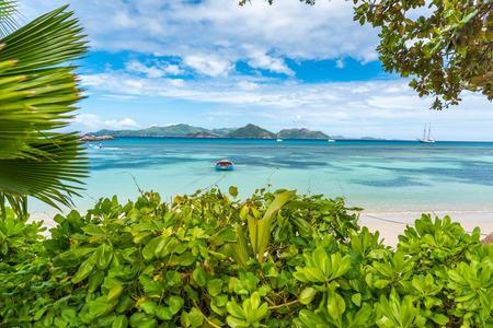 la digue: Anse la Reunion - Seychelles, La Digue Island