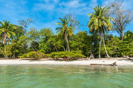 Manuel Antonio, Costa Rica - beautiful tropical beach Standard-Bild