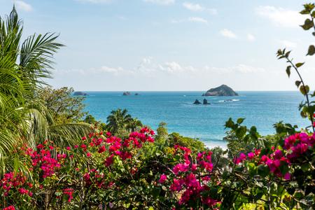 마누엘 안토니오, 코스타리카 - 열대 태평양 연안 스톡 콘텐츠