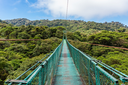 Hanging Bridges in Cloudforest - Costa Rica