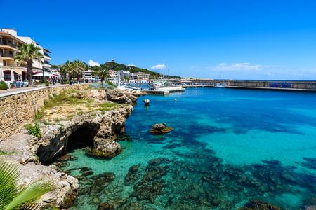 mallorca: Cala Rajada - beautiful coast of Mallorca, Spain Stock Photo