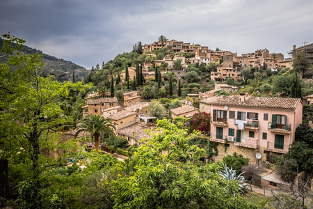 Deia - old village in the mountain of Mallorca, Spain - Europe