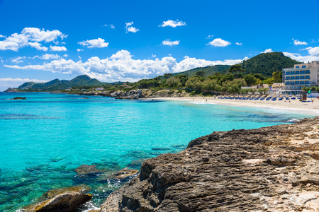 mallorca: Cala Rajada - beautiful coast of Mallorca, Spain Editorial