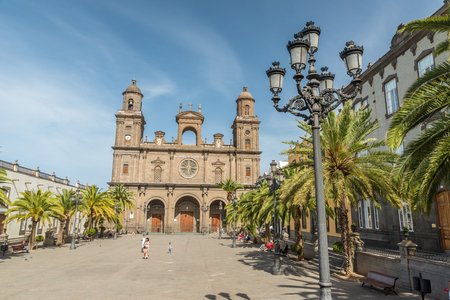 Historical and beautiful citiy Las Palmas de Gran Canaria