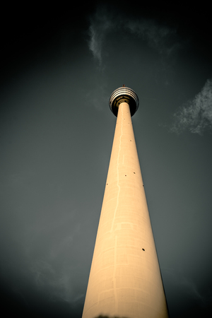 TV Tower in Stuttgart, Germany - First TV Tower of the world