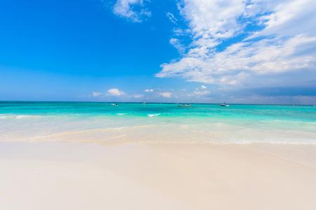 Xpu-Ha Beach - beautiful caribbean coast of Mexico - Riviera Maya Imagens