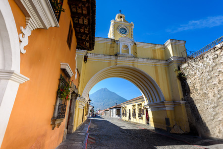 Arco de Santa Catalina - Antigua, old historic city in Guatemala