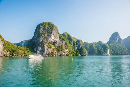 Halong Bay Vietnam Stock Photo