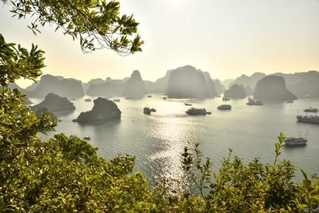 ハロン湾ベトナム 写真素材