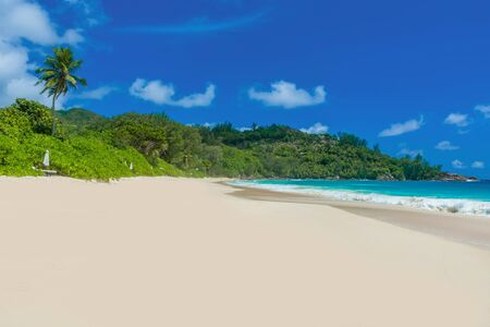 Anse Intendance - Beautiful beach on island Mahé in Seychelles