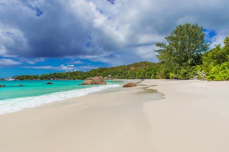 Anse Lazio - Paradise beach in Seychelles, island Praslin
