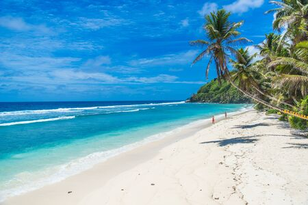 island: Tropical beach in Seychelles, Mahe
