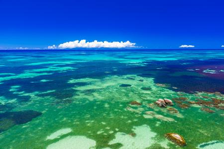 la digue: Tropical beaches on paradise island