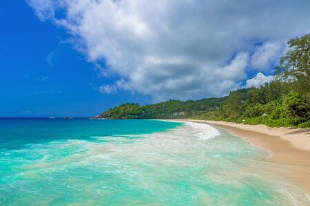 Anse Intendance - Beautiful beach on island Mahé in Seychelles