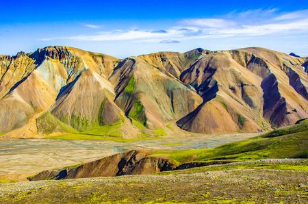 レイキャヴィーク ・ アイスランドの風景を驚くべき 写真素材