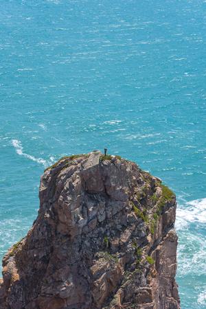 Extreme Sport Climbing on Rocks