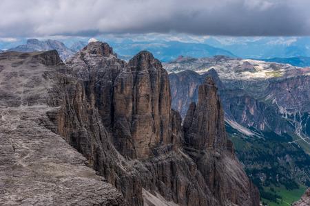 Dolomites Italy - Piz Boe Mountain