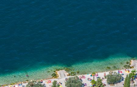 Viewpoint to Garda - Lake Garda in Italy
