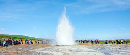 Geysir Strokkur - Biggest Geysir of Europe
