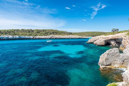 mallorca: Cala Mondrago - beautiful coast of Mallorca