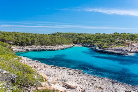 mallorca: Bay of Cala Mondrago - beautiful beach and coast of Mallorca