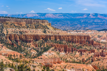 Beautiful view of Bryce Canyon at Sunrise Point, Bryce Canyon National Park, Utah, United States