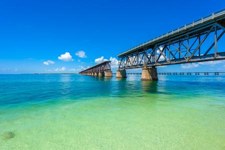 플로리다 키 - 파라다이스 비치 - 미국과 열대 해안