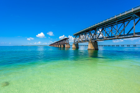 Florida Keys - tropical coast with paradise beaches - USA