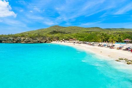 Grote Knip beach, Curacao, Netherlands Antilles - paradise beach on tropical caribbean island