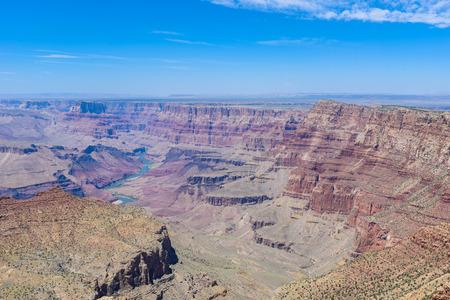 グランドキャニオン国立公園のナバホビューポイント、アリゾナ州、アメリカ合衆国 写真素材