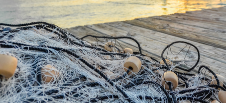 Fishing net at Pier