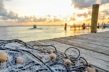 Fishing net at Pier