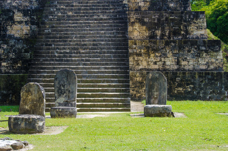 Tikal - Maya Ruins in the rainforest of Guatemala Stock Photo - 104167551