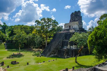 Tikal - Maya Ruins in the rainforest of Guatemala