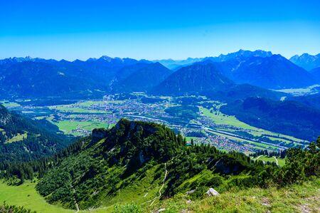 Beautiful Mountain scenery at Reutte in Alps, Tyrol, Austria.