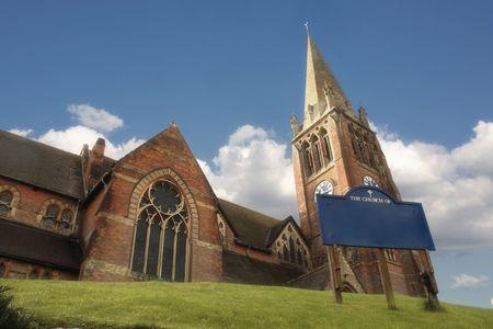 Church in Lyndhurst, Hampshire photo