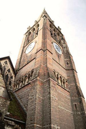 hampshire: Iglesia en Lyndhurst, Hampshire Foto de archivo