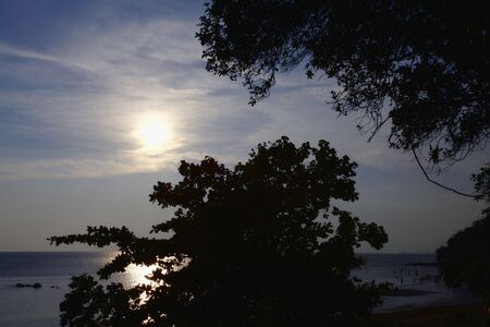 quite time: Scenic Landscape in Port Dickson, Malaysia