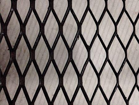 metallic: Black Metallic Grill Texture