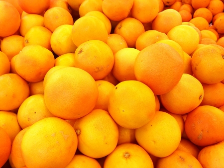 deliciously: Selection of Deliciously Fresh Oranges