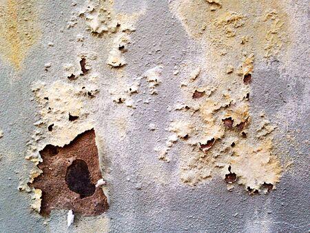 peeling paint: Calcestruzzo parete con peeling vernice di Grunge Archivio Fotografico