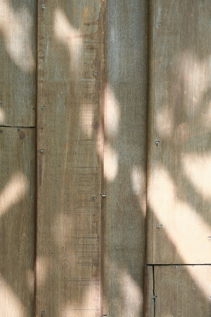 shadowed: Shadowed Wooden Boards Background Stock Photo