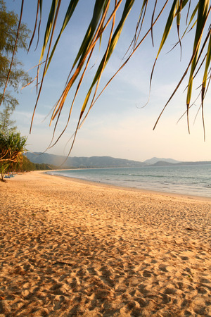 east asia: Beautiful Beach in Thailand, South East Asia Stock Photo