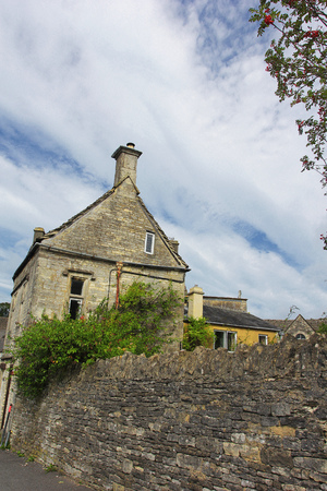 Building in Minchinhampton, The Cotswolds, England