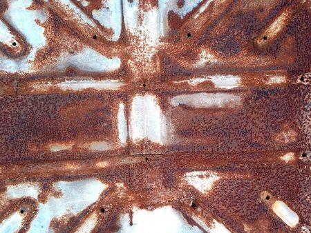 metallic: Rusty Metallic Surface Grunge Texture