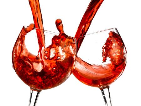 tastevin: glasses of wine
