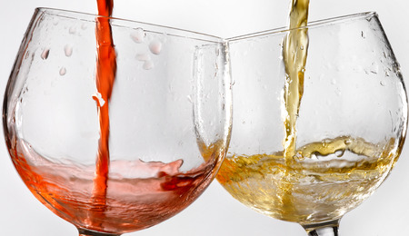 sommeliers: glasses of wine